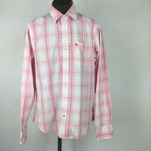Abercrombie & Fitch Men's Size XL Pink Shirt